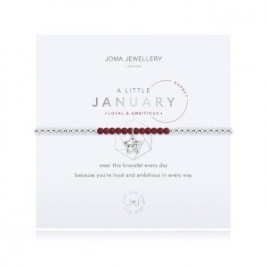Joma Jewellery A Little January Garnet