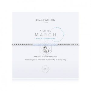 Joma Jewellery A Little March Aqua Crystal