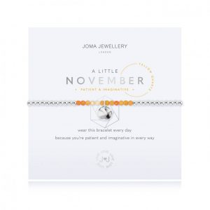 Joma Jewellery A Little November Yellow Quartz